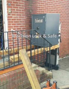 Residential Safe Delivery using small fork lift