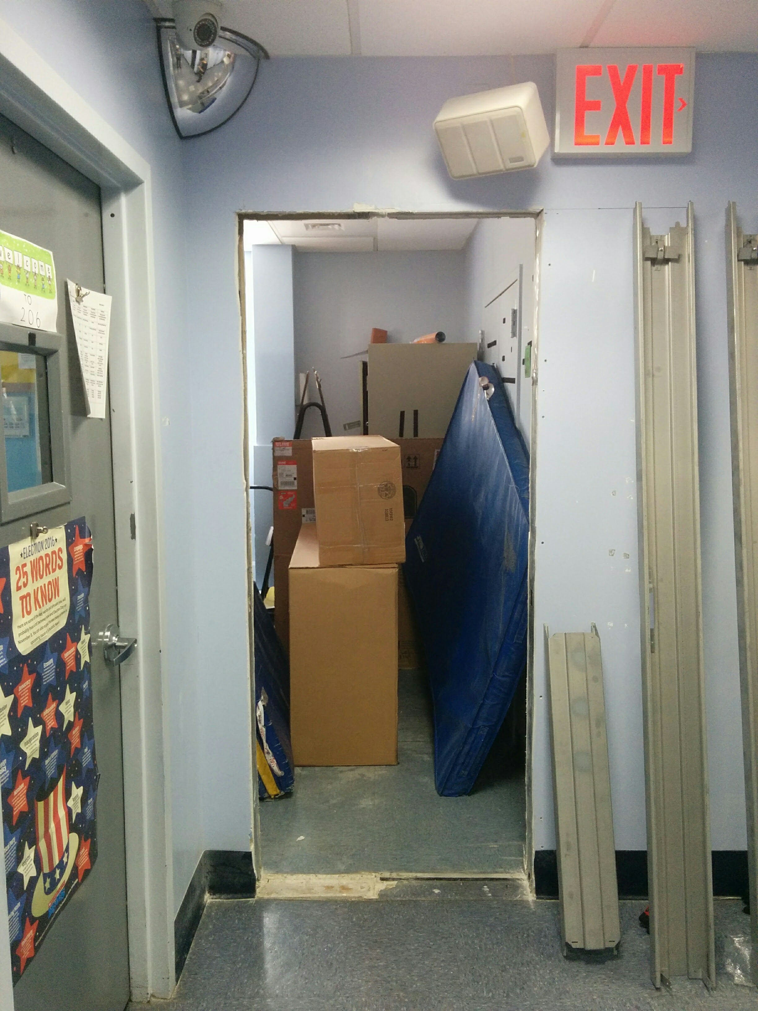 Knock Down Fire Rated Hollow Metal Door And Frame Install