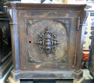 Marvin Key Lock safe Before Restoration
