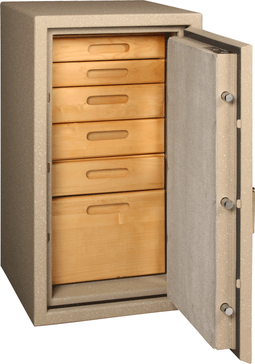 BF3416 in Textured Sandstone with Optional StorIt Cabinets
