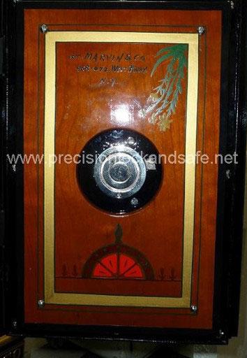 Marvin Key Lock safe After Restoration